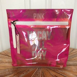 NWT PINK Victoria's Secret Vacay All Day Bag